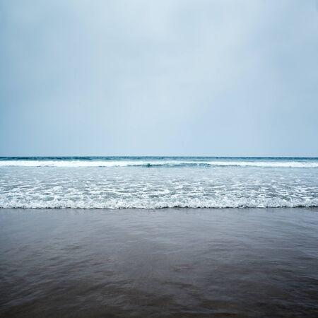 ocean wave: blue sea and sky waves coast ocean
