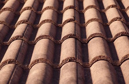 tile: tile roof Stock Photo