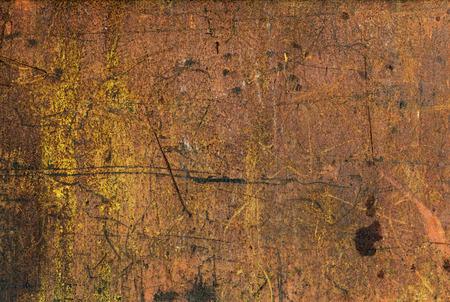 corrode: rusty metal background