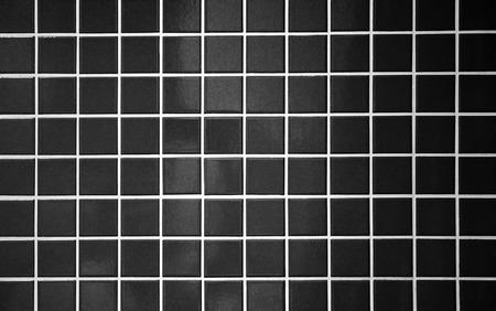 bathroom tile: black tile bathroom wall background