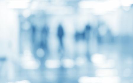 Medische blauwe wazige achtergrond abstracte eigentijdse Stockfoto - 65574517