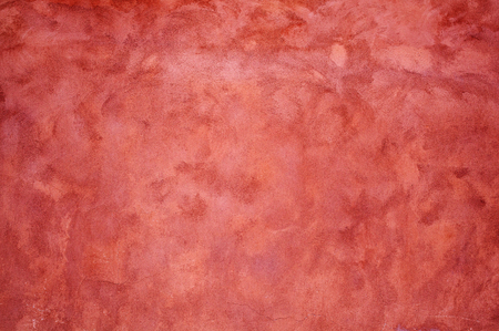 stucco texture: Old red stucco wall texture background