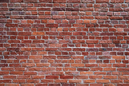 brick texture: old red brick wall texture background