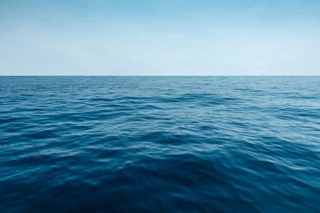water of ocean and sky