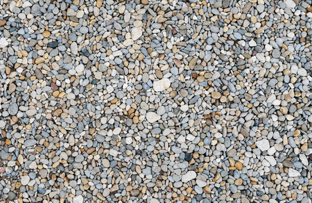 smooth rounded pebbles sea Stone texture background