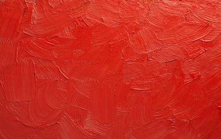 abstract oil paint texture hand drawn oil painting red tones colorful background Reklamní fotografie