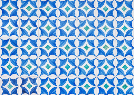 blue azulejos lisbon tile portugal ceramic design tile  background texture