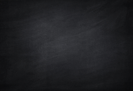 empty black school chalkboard blackboard dust background Reklamní fotografie