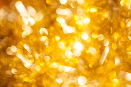 gold glitter abstract blurred background