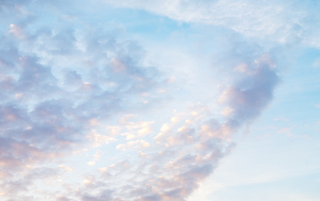 beautiful pastel cloudy sky background Reklamní fotografie