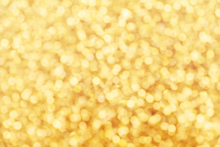 yellow gold abstract blurred defocused lights background