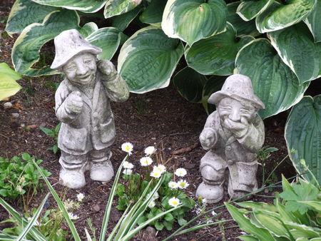 garden statues 02 Stock Photo