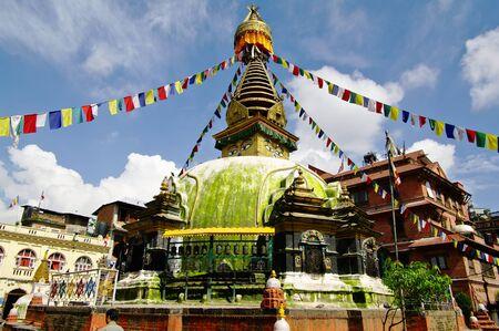 Stupa in Kathmandu Stock Photo