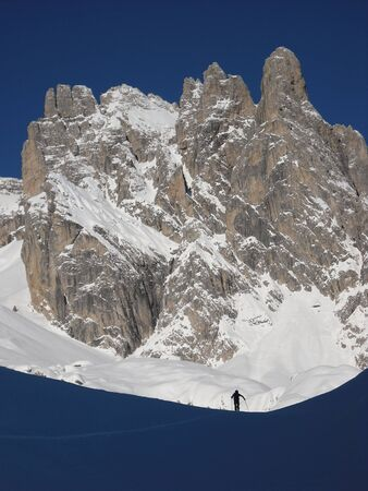 backcountry: Back-country in the Dolomites