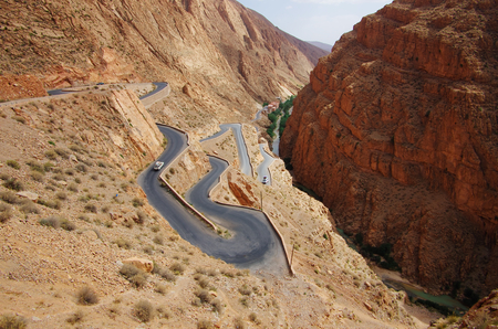 contorted: Contorted road
