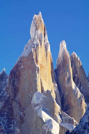 cerro torre: Cerro Torre Stock Photo