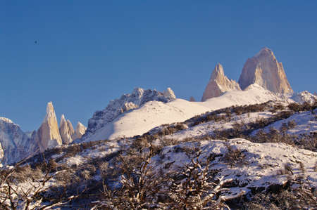 cerro chalten: Fitz Roy and Cerro Torre