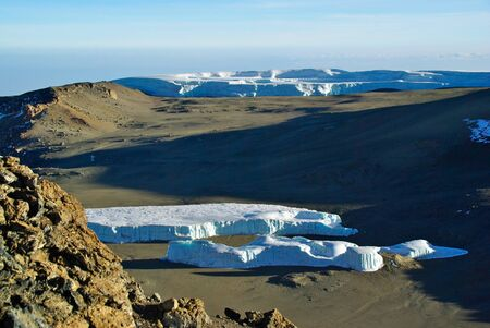 kilimanjaro: Kilimanjaro glacier