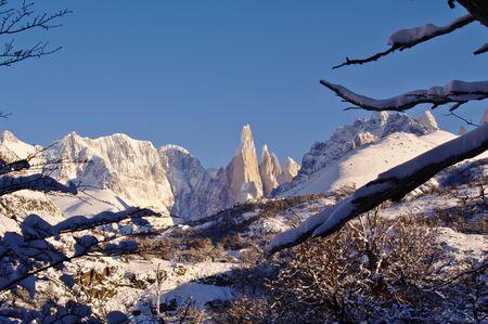 los glaciares: Fitz Roy and Cerro Torre