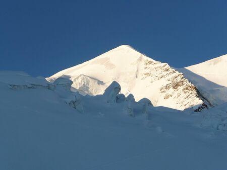 serac: Serac on the rout to Piz Palu summit