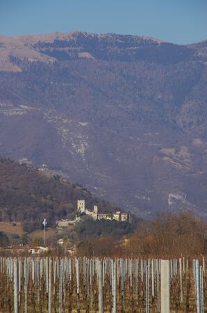 This castle is the home of the Bishop of Vittorio Veneto since the medieval age, when the bishop was the lord of all the surrounding hills. Albino Luciani became Pope Giovanni Paolo I after being the Bishop of the Diocese of Vittorio Veneto.