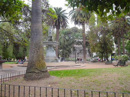 SALTA,AR - CIRCA OCT 2018 - Parc in the center of Salta, Argentina