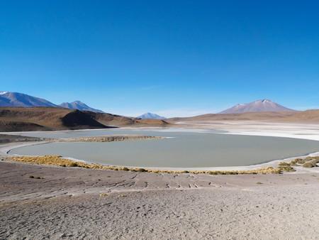 Andean altiplano of Bolivia, South America 写真素材