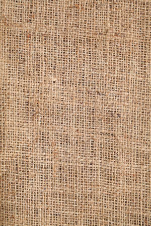 frayed: Piece of frayed burlap Stock Photo