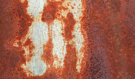 A rust on Zinc wall  photo