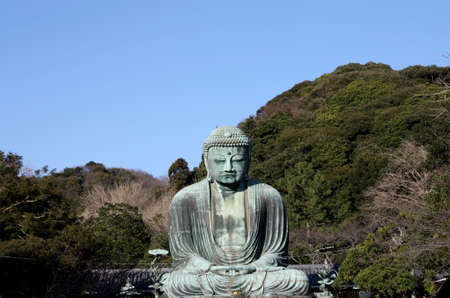 kamakura: Great buddha in kamakura Japan