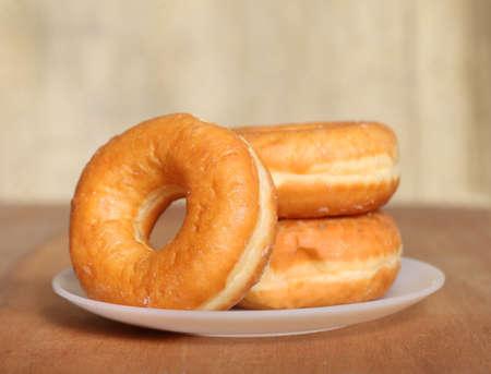 comida chatarra: Homemade Donuts