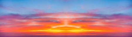 fondo azul: Sunrise over mountains.