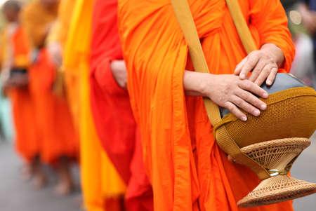 Buddhist monk Banque d'images