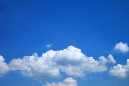 Cielo nuvole blu, cielo blu con nuvole. Archivio Fotografico - 38196882