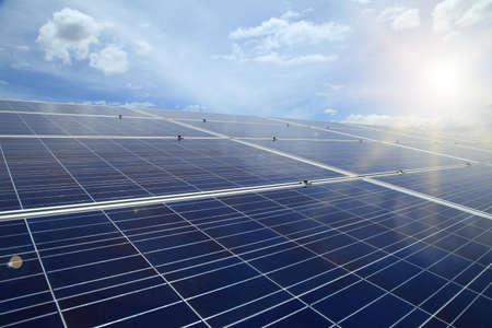 viewfinderchallenge3: Power plant using renewable solar energy with sun.