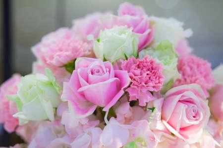 Beautiful flowers background for wedding scene . 版權商用圖片