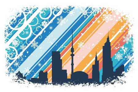 The city Stock Vector - 12038297
