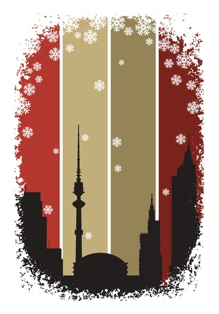 The city Stock Vector - 12038294