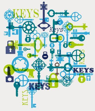latchkey: fantasy with elements of keys and locks