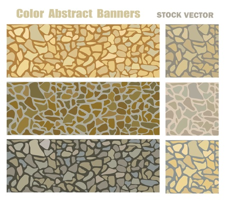 encasement: Vector abstract background based on natural stone Illustration