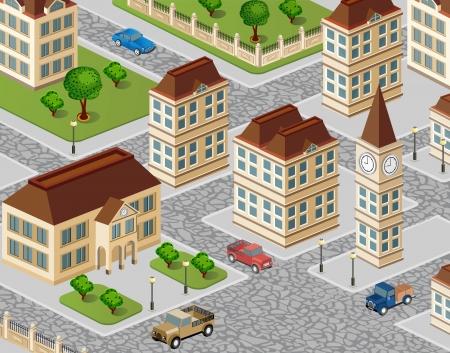 Urban view Vector