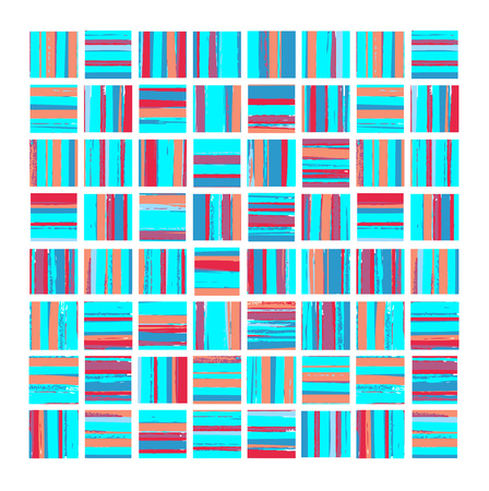 The geometric pattern of repeating elements Stock Vector - 22345529