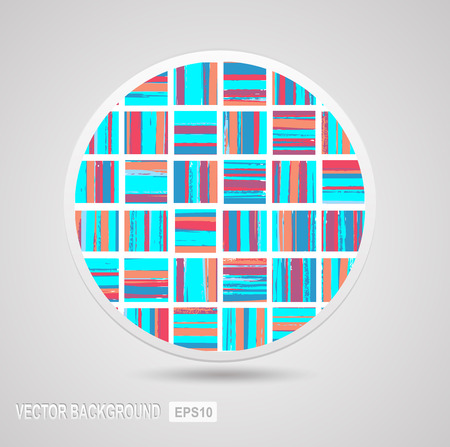 The geometric pattern of repeating elements Stock Vector - 22345536