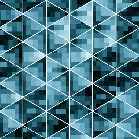 The geometric pattern of repeating elements