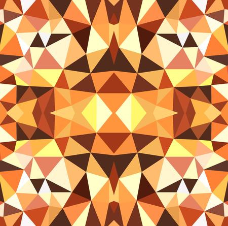 decorative pattern: Geometric seamless repeating pattern of decorative design, textiles and fabrics.