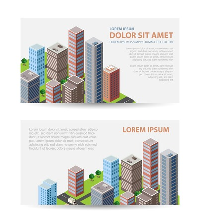 construction companies: Set template invitations, business cards, flyers on the urban theme. Suitable for real estate agencies and construction and tourism companies.