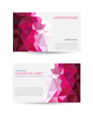 construction companies: Set template invitations, business cards, flyers on an abstract theme. Suitable for real estate agencies and construction and tourism companies. Illustration