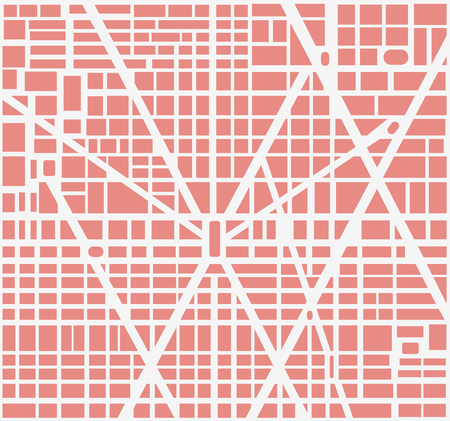 urban background: City map of the area of urban neighborhoods, houses and roads. It can be used as background urban design