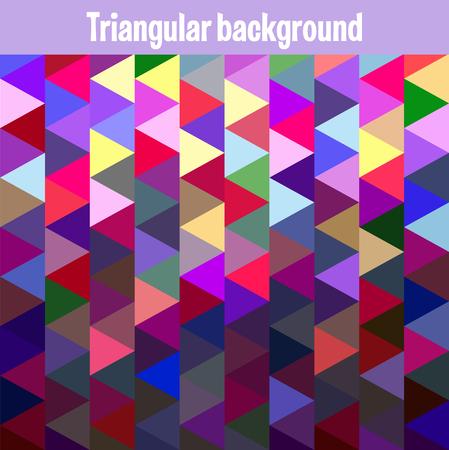 mesh: Multicolor triangular mesh mosaic background, creative design templates