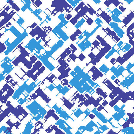 Military camouflage texture of seamless pattern background Illustration